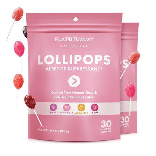 flat tummy lollipops