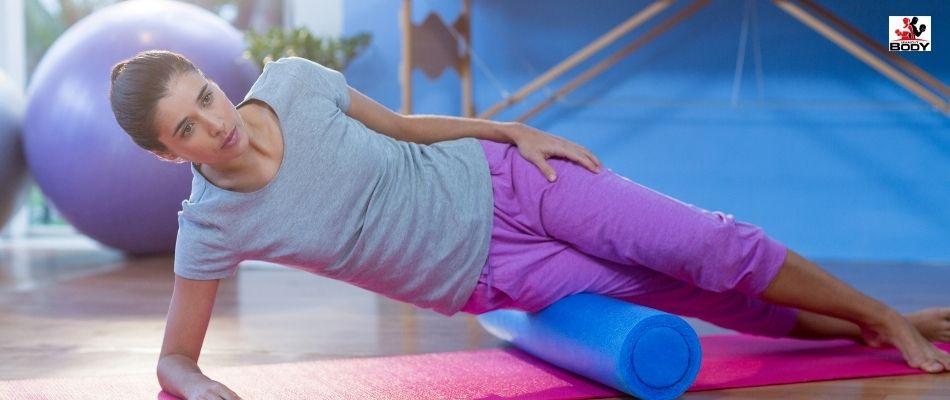Foam Rolling to Reduce Hip Flexor Pain